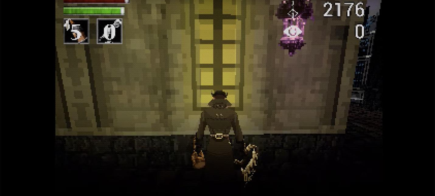 Работа над демейком Bloodborne в стиле PS1 идет по плану