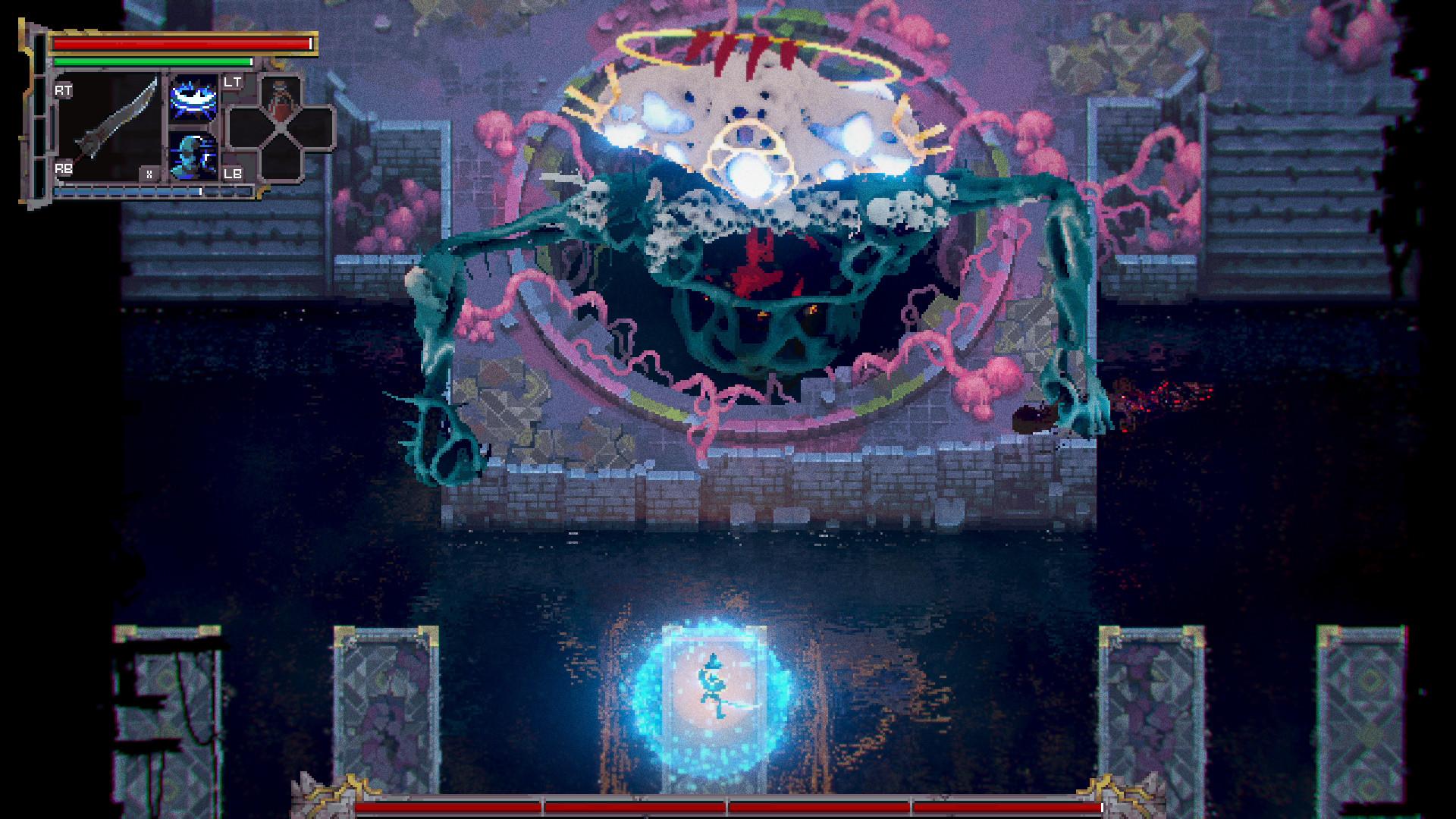 Смесь Dark Souls и Tetris с крутой пиксельной графикой — это Loot River