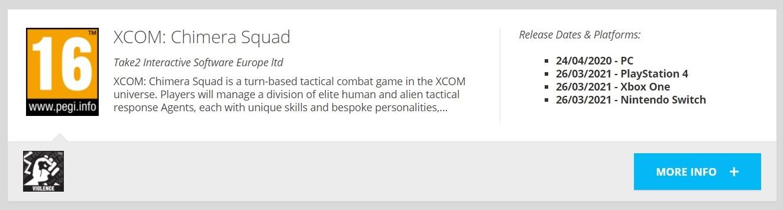 XCOM: Chimera Squad может выйти на консолях
