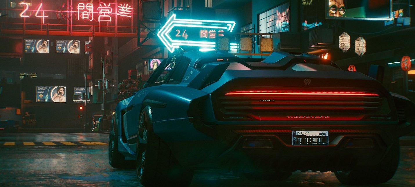 Новый патч Cyberpunk 2077 не исправил работу полиции