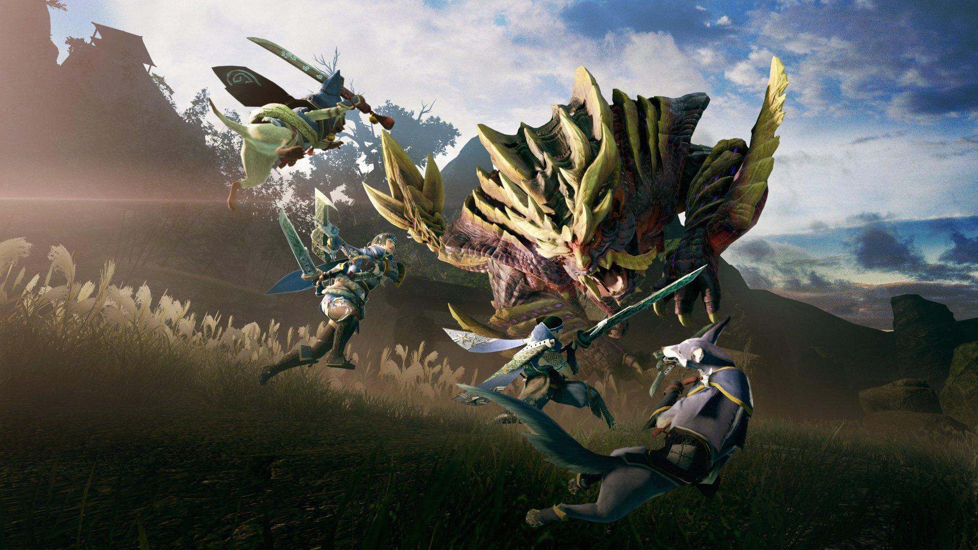 Обзор Monster Hunter Rise — Бесконечная охота