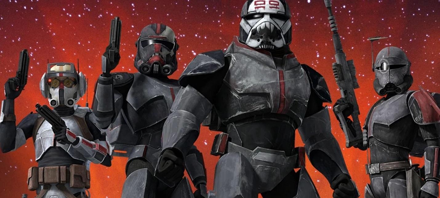 Первый трейлер мультсериала Star Wars The Bad Batch