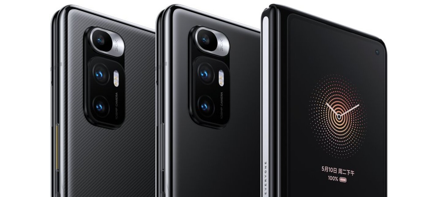 Xiaomi представила складной смартфон MI Mix Fold