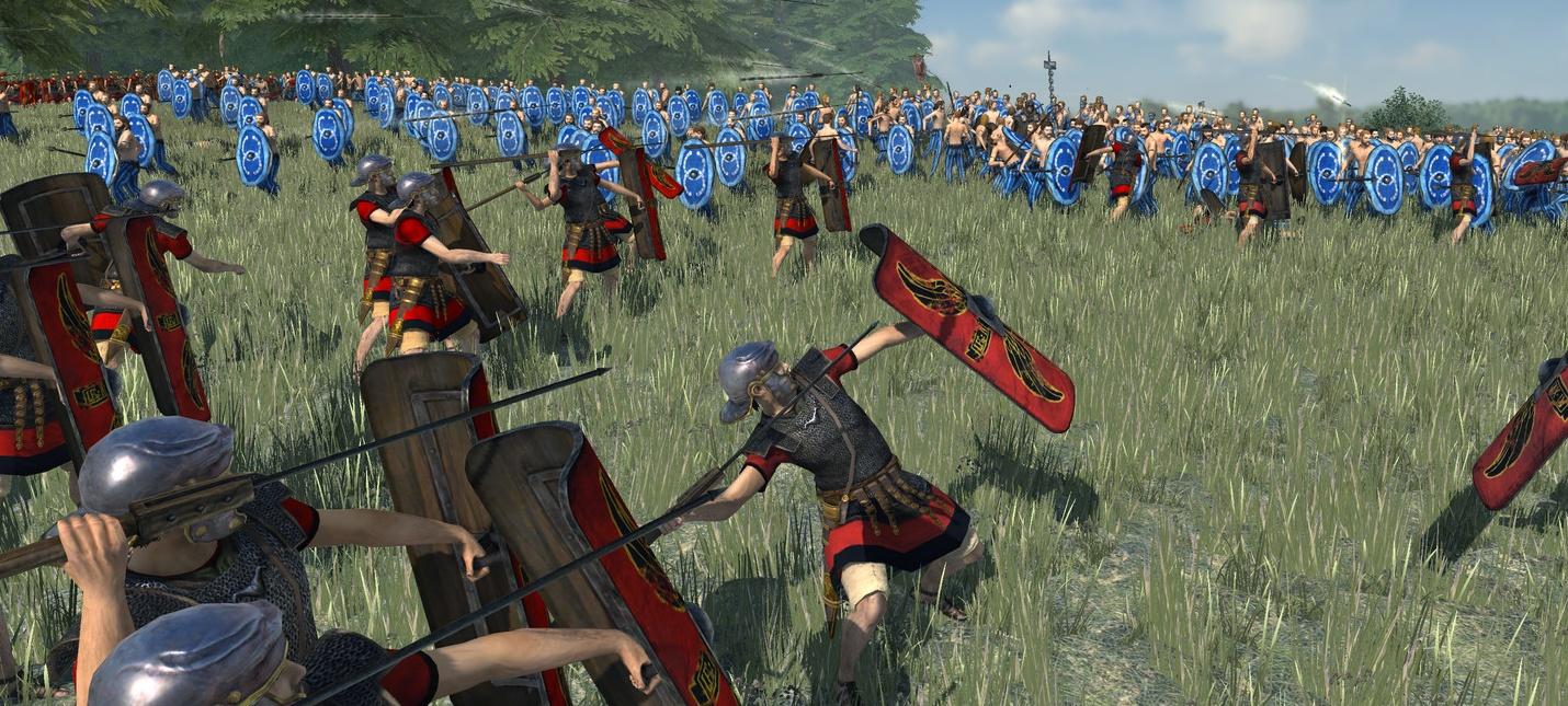 Сравнение ремастера Total War Rome с оригиналом в новом трейлере
