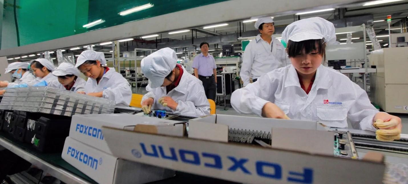 Foxconn Дефицит чипов продлится до второго квартала 2022 года