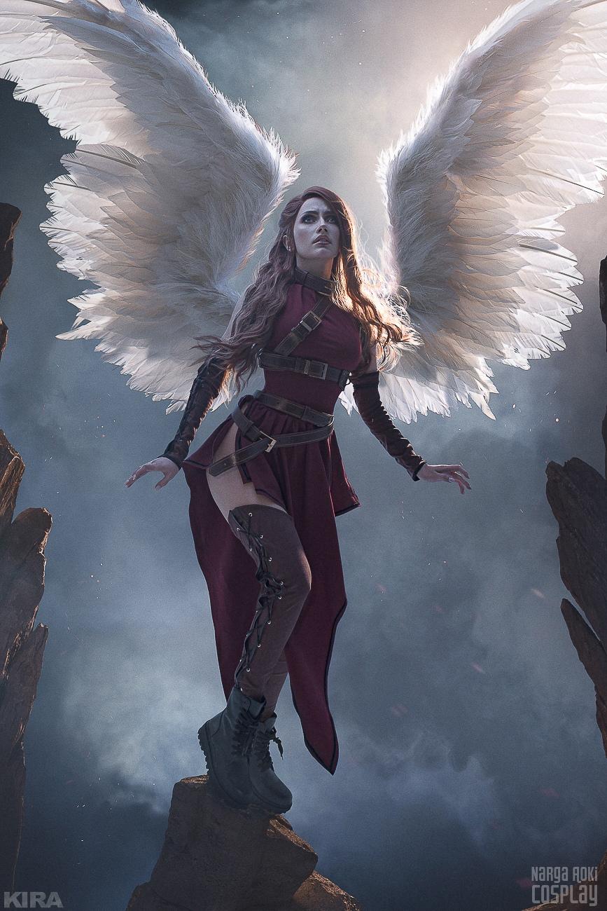 Пятничный косплей: Демоны и ангелы, Царевна Несмеяна, Street Fighter и Харли Квинн