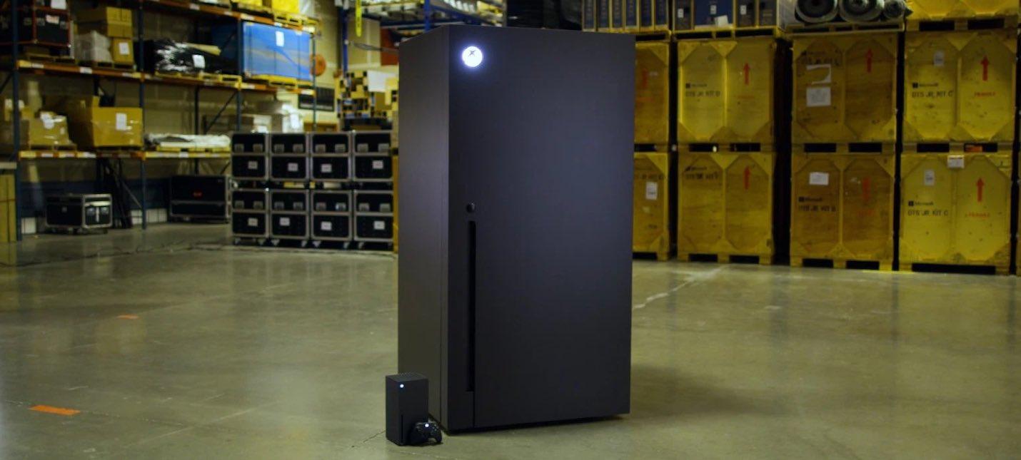 Xbox победила в твиттер-голосовании и начнет производить мини-холодильники в форме Xbox Series X