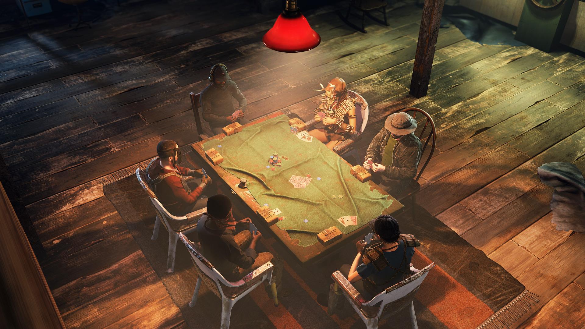Апрельский патч Rust добавил в игру жесты и покерные столы