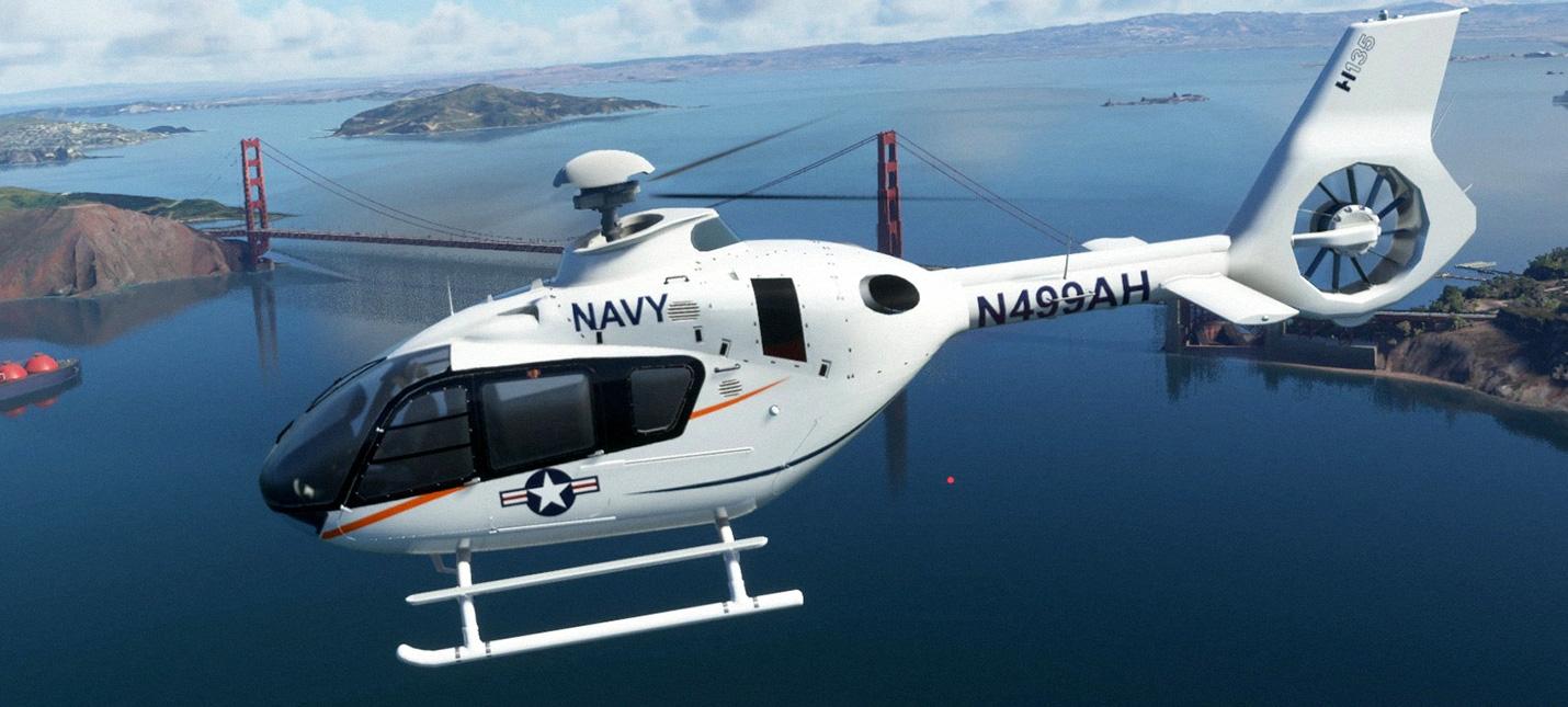 Моддер добавил рабочий вертолет в Microsoft Flight Simulator
