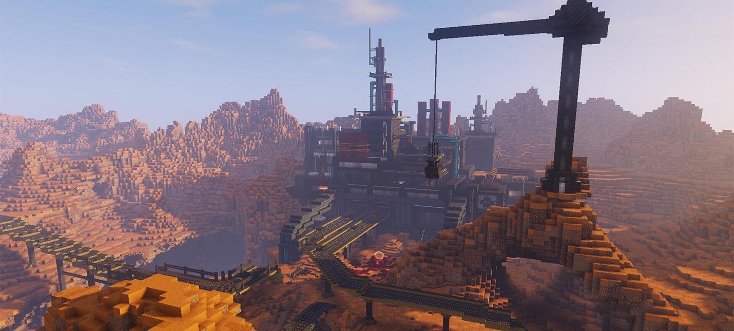 Игрок Minecraft уже год создает DOOM из блоков  получается шикарно
