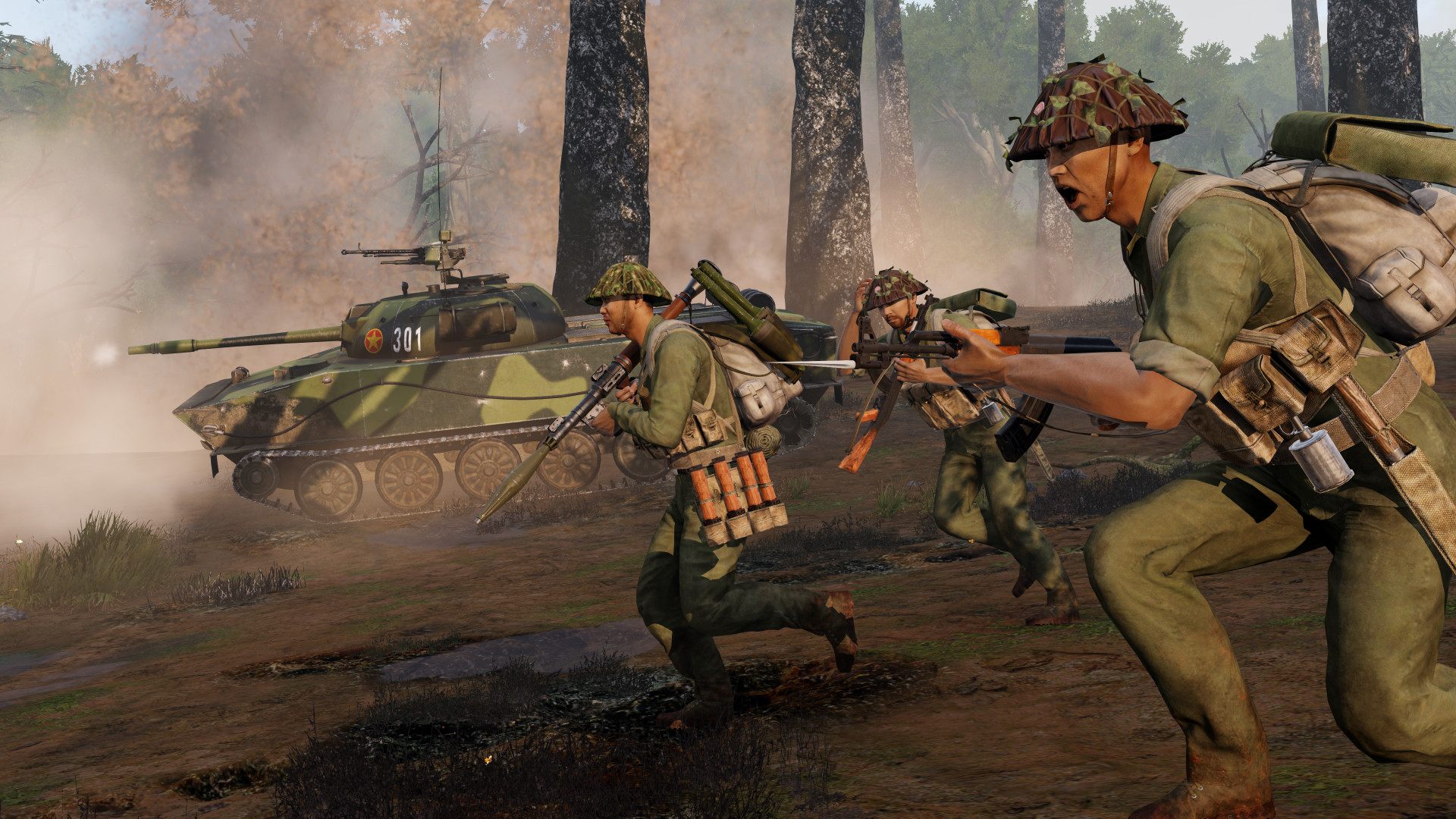 Arma 3 получит DLC про Вьетнам