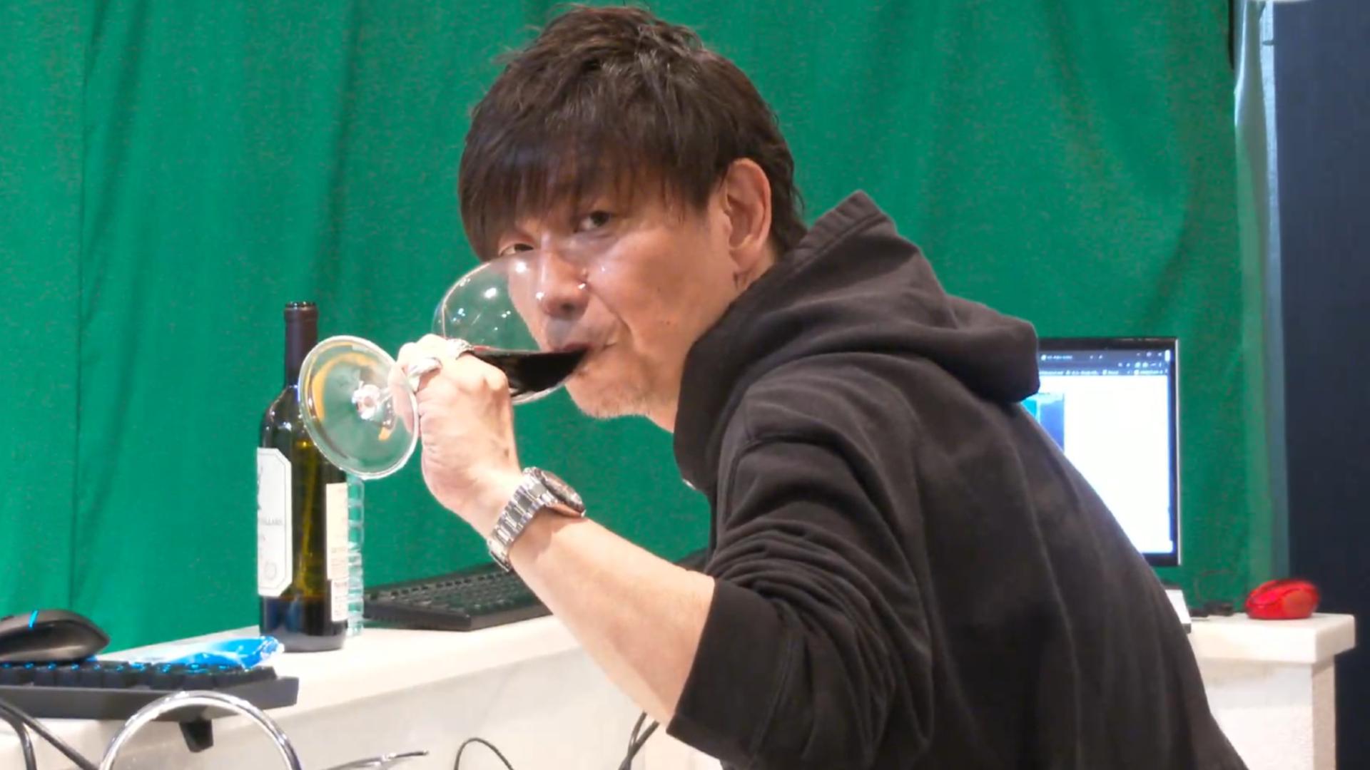Директор Final Fantasy 14 провел на твиче семичасовой стрим: готовил печенье, пил вино и играл в MMO