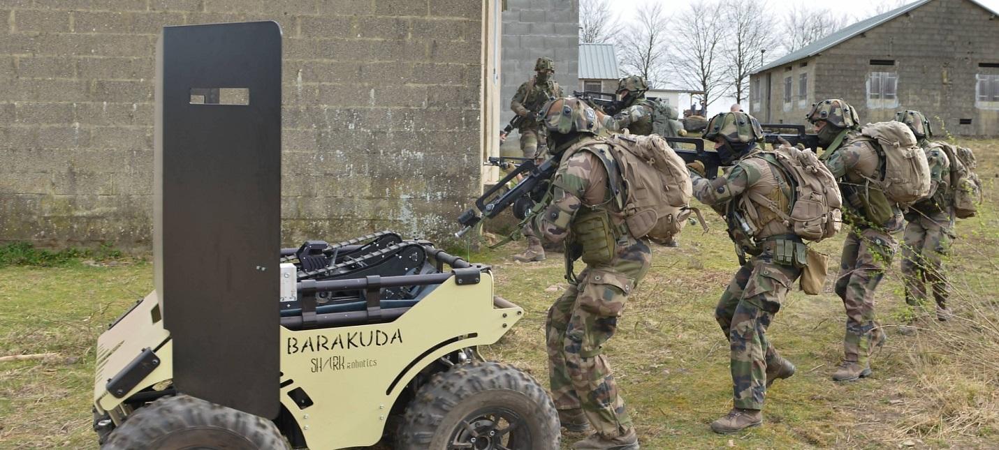 Армия Франции начала использовать робота Boston Dynamics в учениях