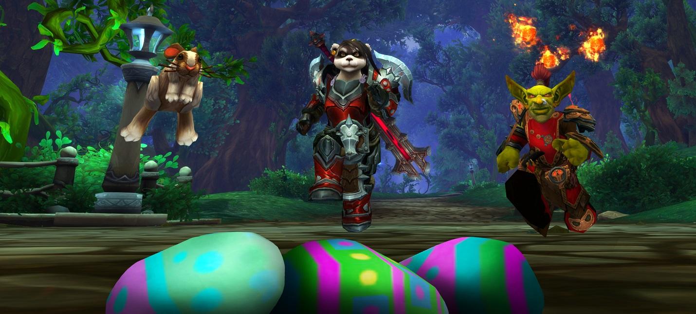 Игрок выполнил все задания пасхального ивента World of Warcraft, стоя на одном месте