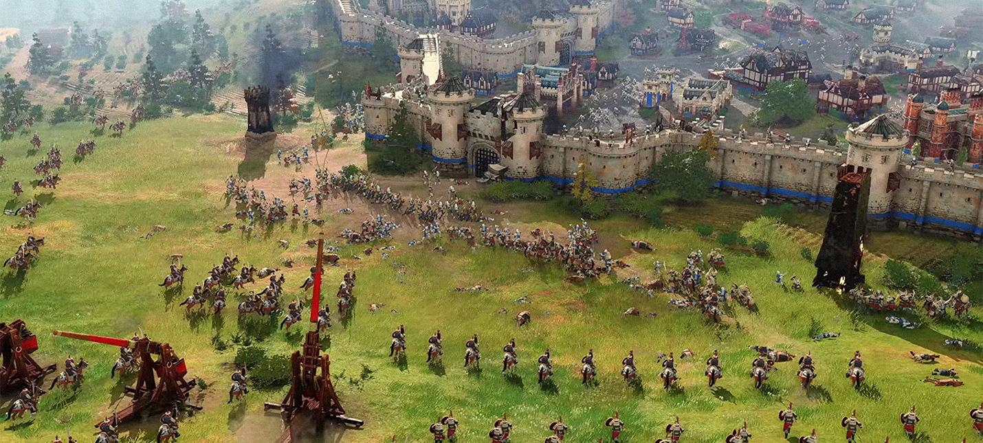 Прямой эфир с презентации Age of Empires 4  старт в 1900 (МСК)