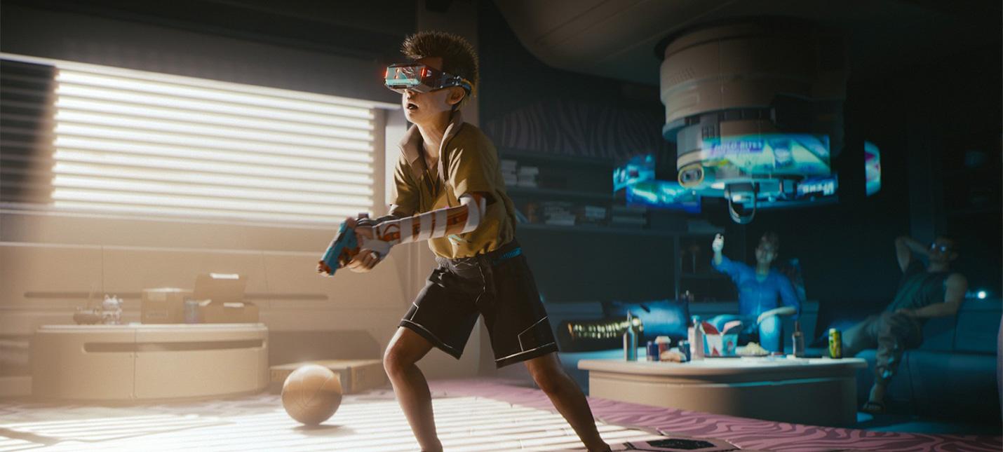 Игроки Cyberpunk 2077 в шоке от того, чем в Найт-Сити занимаются дети