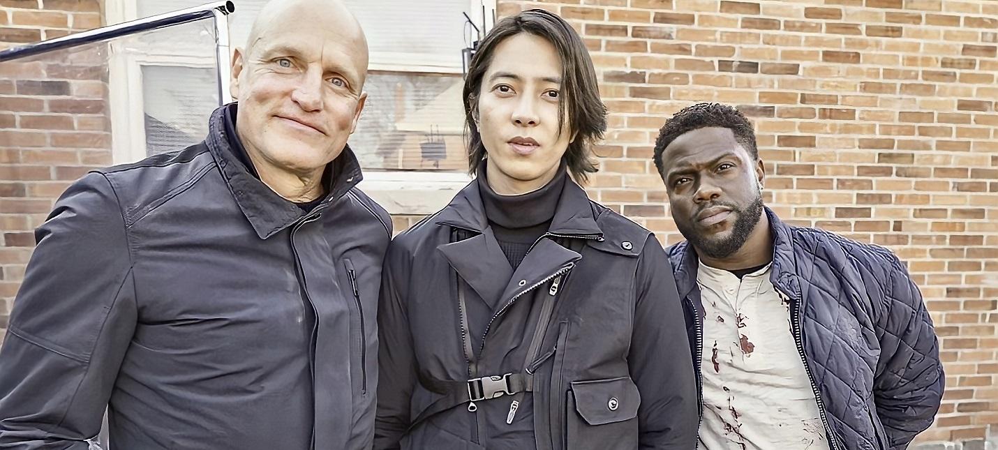 """Комедийный боевик """"Человек из Торонто"""" с Вуди Харрельсоном и Кевином Хартом перенесли на 2022 год"""