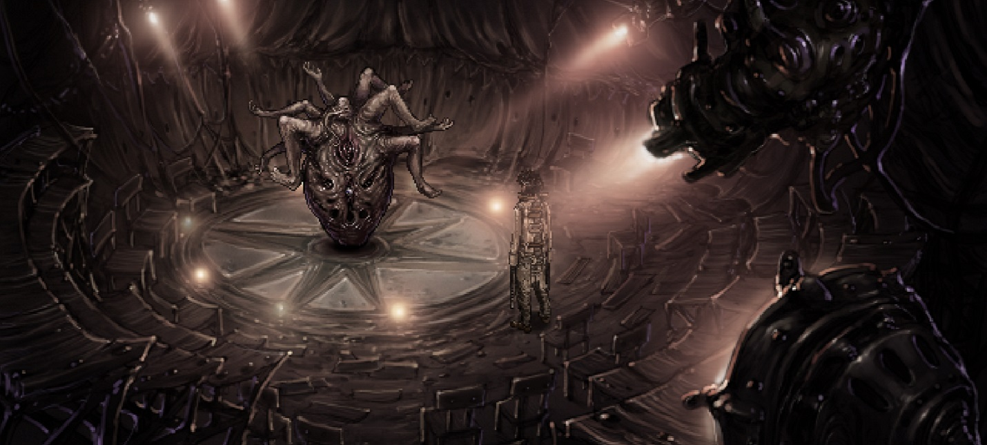 Сюрреалистичный хоррор Strangeland, вдохновленный работами Гигера, выйдет в мае