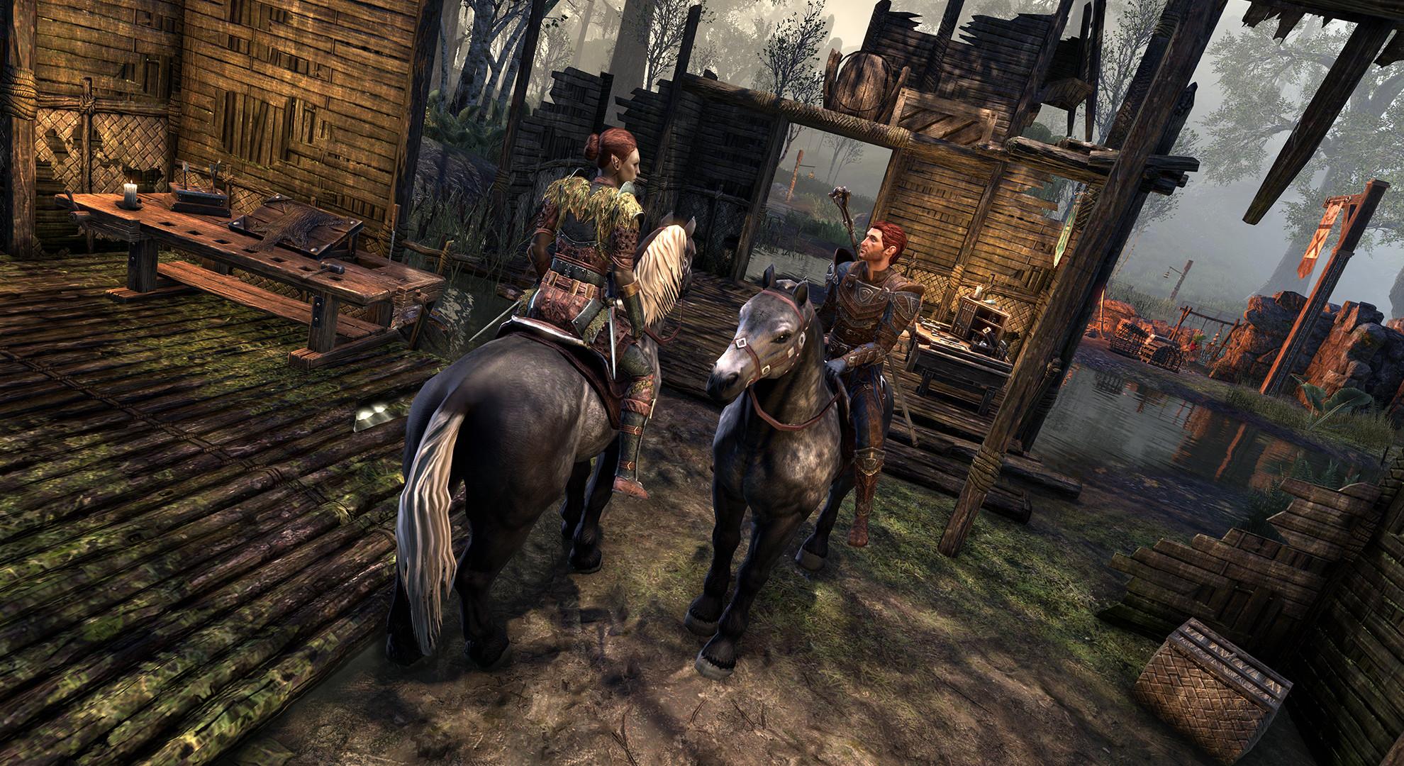 The Elder Scrolls Online — Первые шаги по Черному Лесу