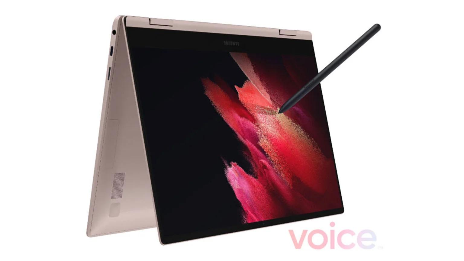 Рендеры ноутбуков Galaxy Book Pro и Book Pro 360 с грядущего ивента Galaxy Unpacked