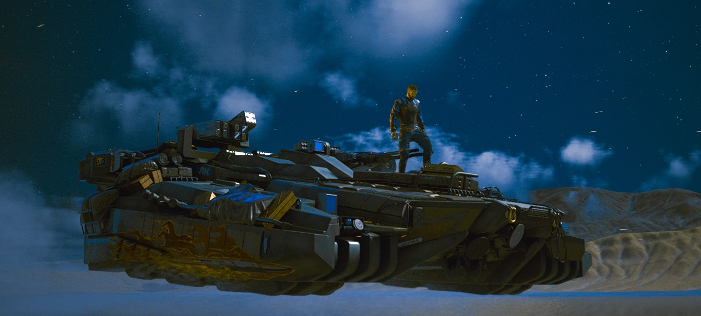 Игроки хвалят улучшенный генератор погоды в Cyberpunk 2077