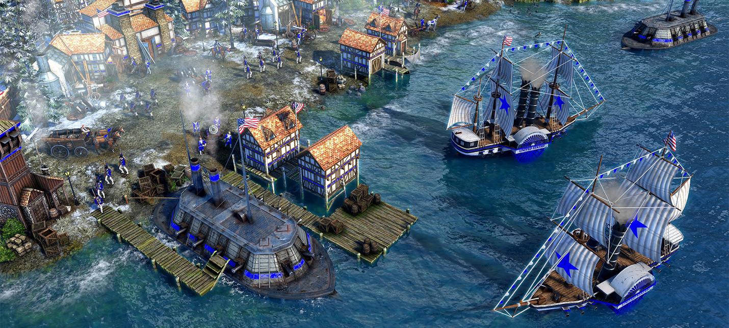 Фанаты Age of Empires 3 считают, что США сделали самой мощной цивилизацией