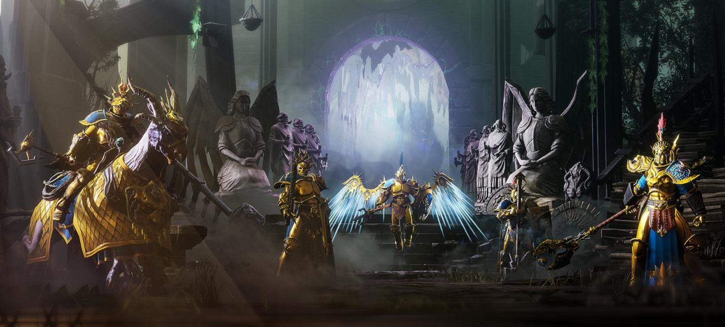 Работа над персонажами в ролике Warhammer Age of Sigmar: Storm Ground