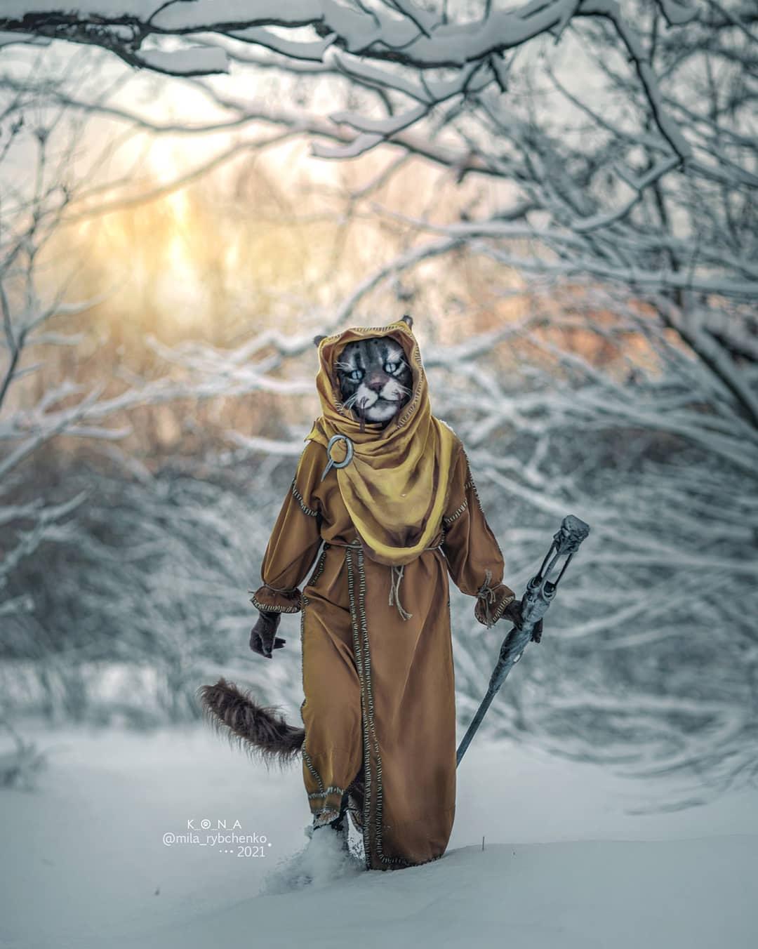 Пятничный косплей: Skyrim, Guilty Gear и Cyberpunk 2077