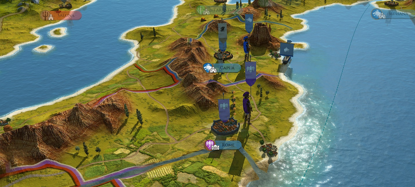 Изменения и улучшения в трейлере ремастера Total War: Rome