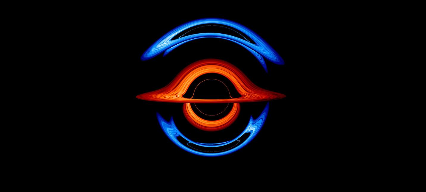 NASA визуализировало двойную черную дыру