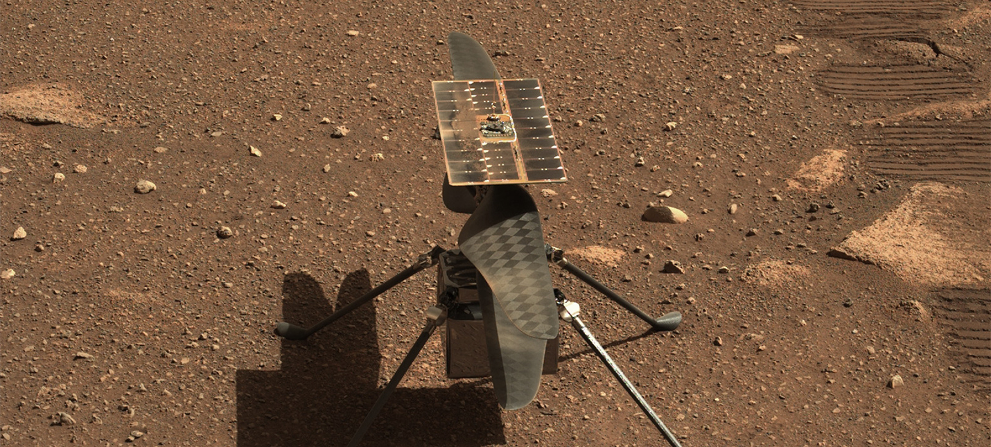 NASA запустит марсианский вертолет 19 апреля