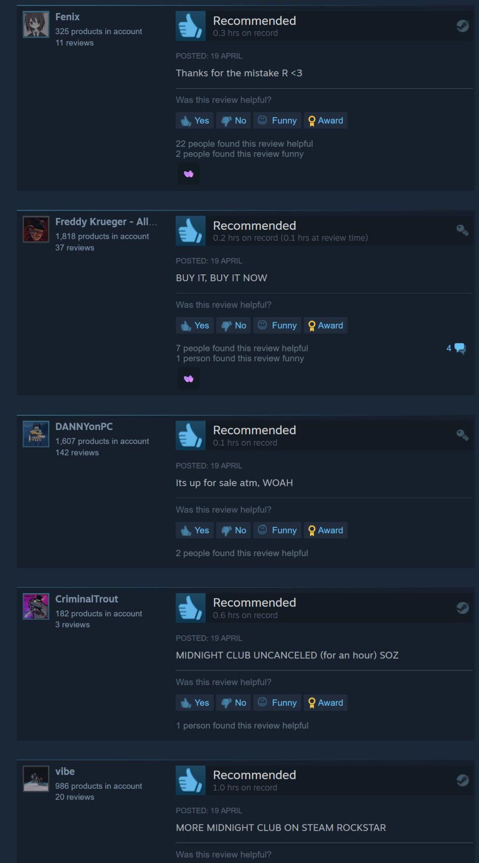 Из-за ошибки Steam некоторые геймеры смогли купить Midnight Club 2