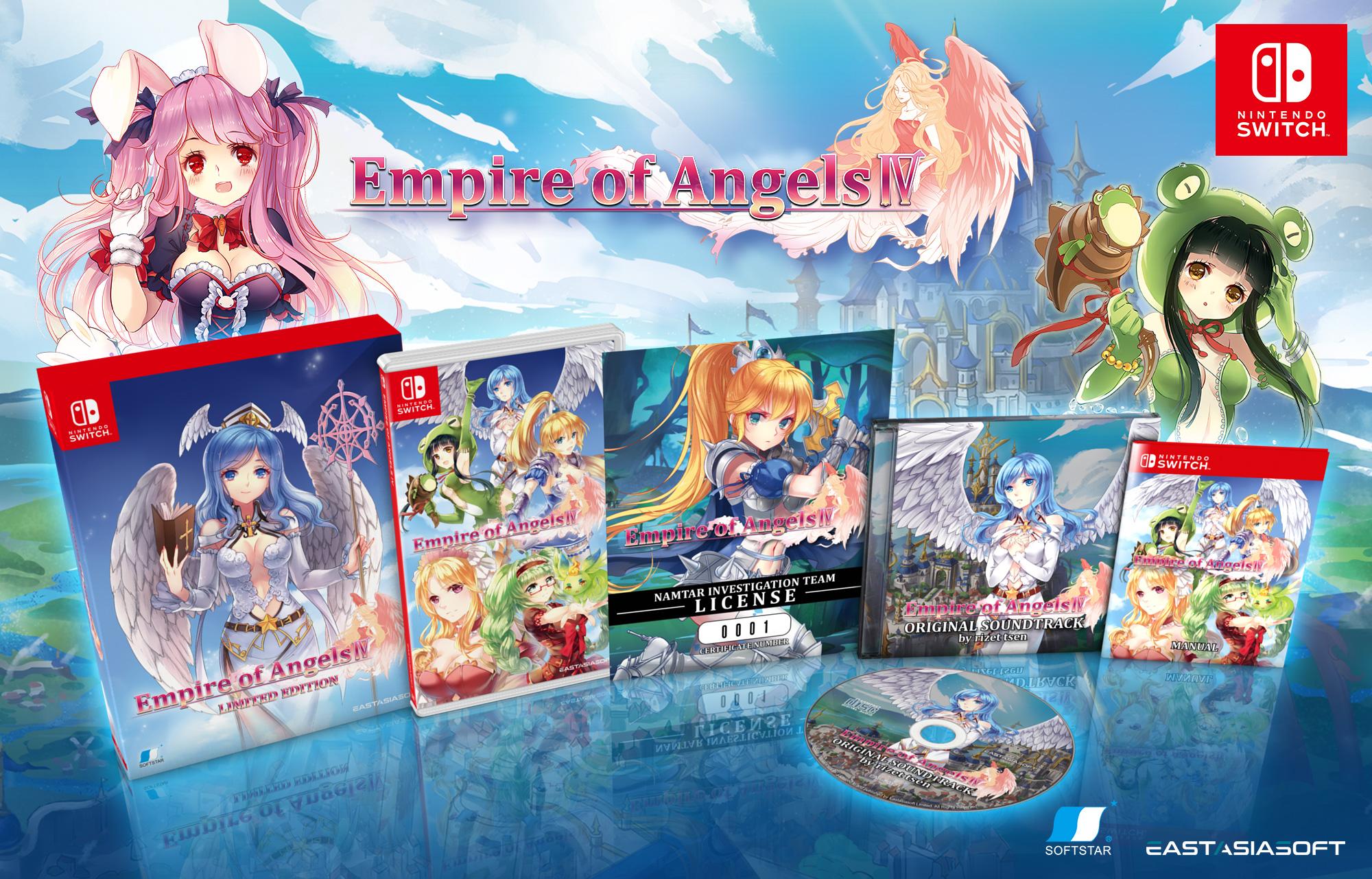 Тактическая ролевая игра Empire of Angels IV выйдет на консолях летом