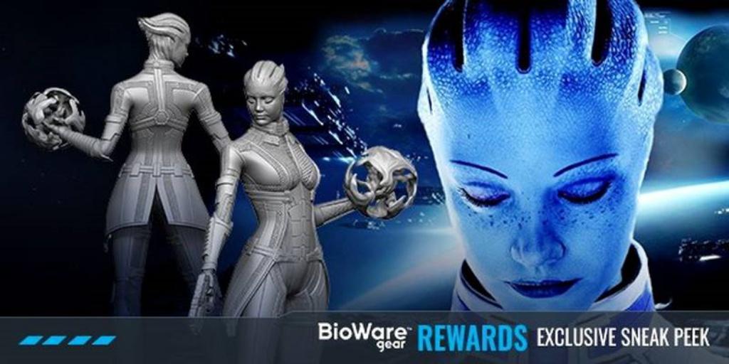 BioWare выпустит статуэтку Лиары из Mass Effect
