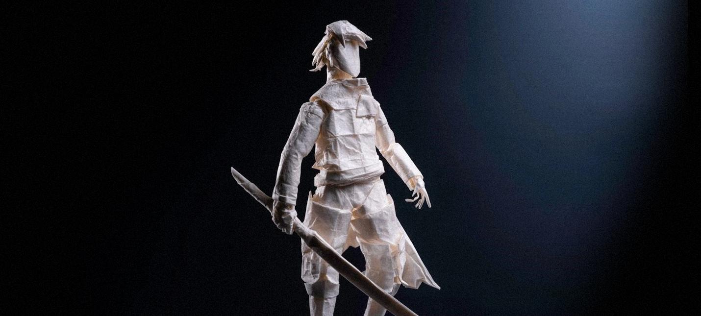 На создание оригами Nier Replicant у мастера ушло более 200 часов