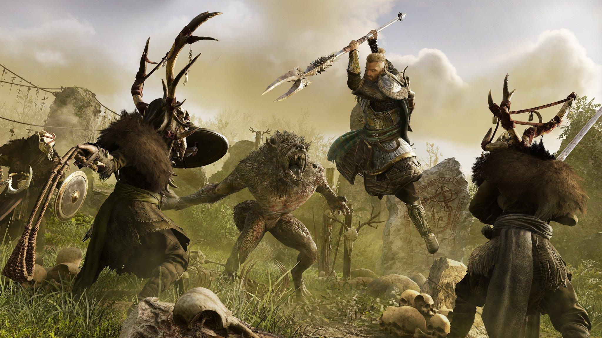 В первом DLC для Assassin's Creed Valhalla появятся оборотни