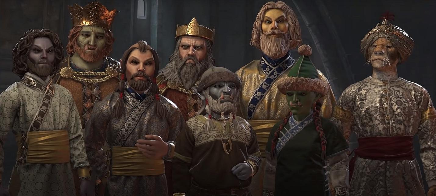 Фанаты переносят мир The Elder Scrolls в Crusader Kings 3  получается очень круто