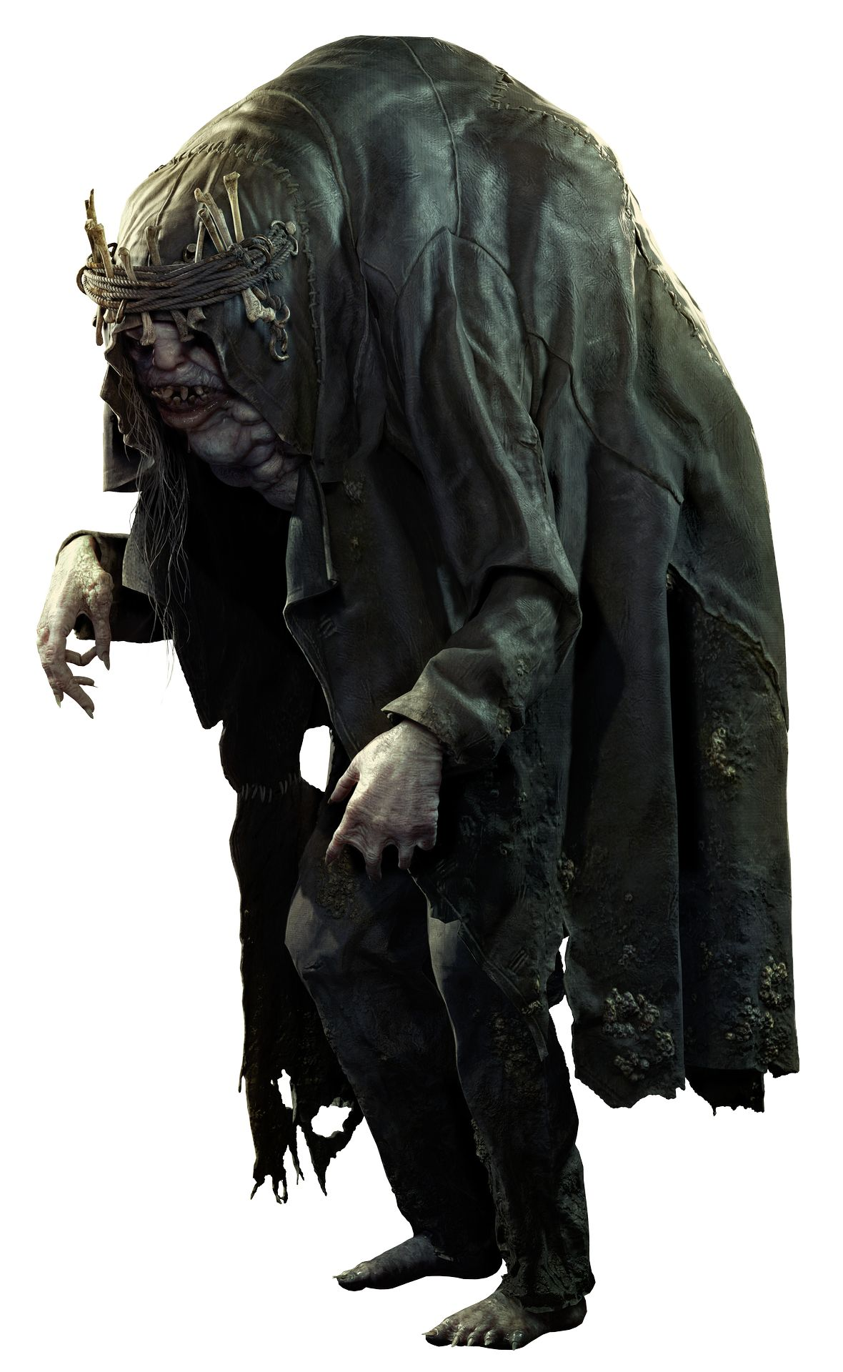 Дед с кувалдой, кукла и мерзость в Resident Evil Village — Capcom рассказала о главных противниках в игре