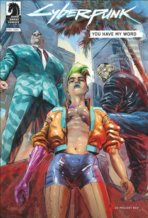 Опубликованы несколько страниц из нового комикса по Cyberpunk 2077