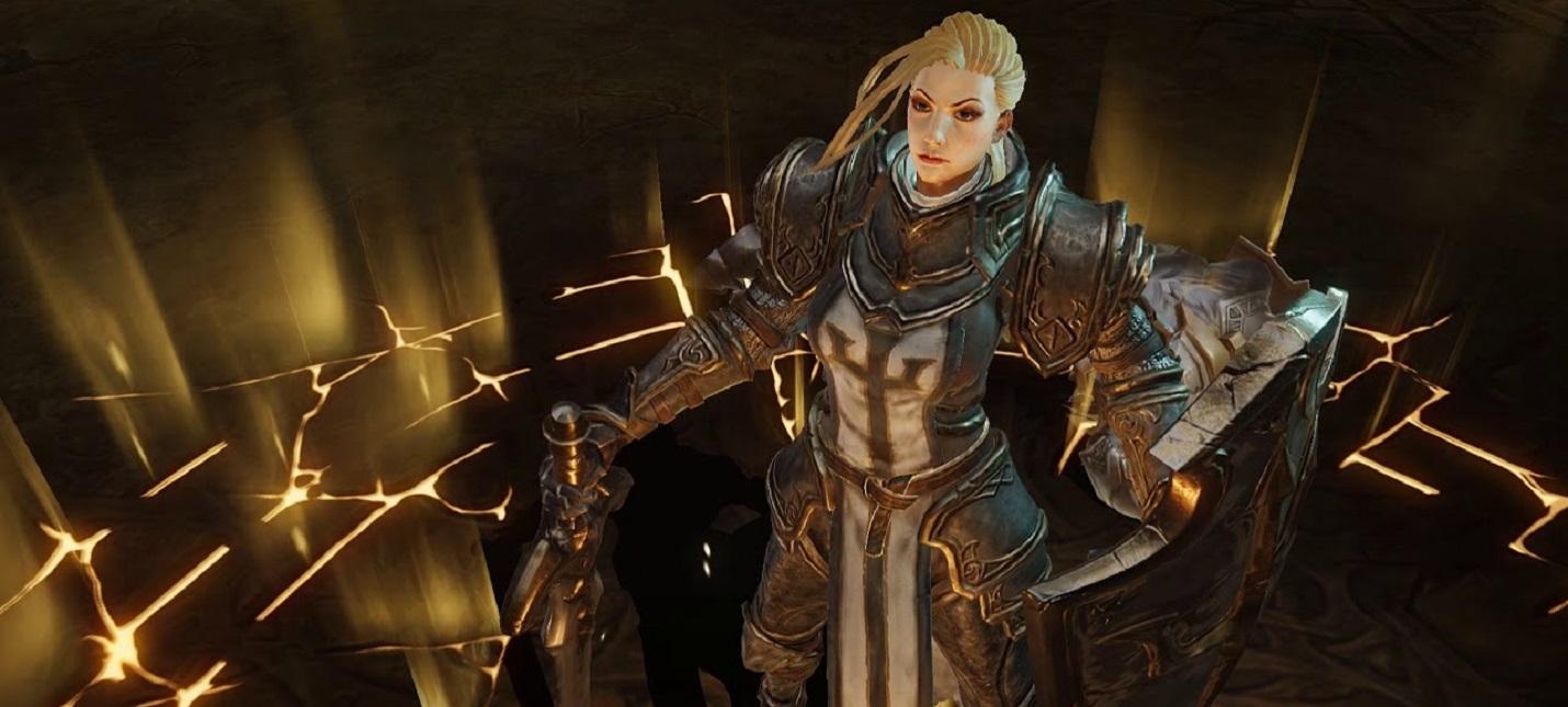 Сражения на коне, лут и масса врагов в геймплее Diablo Immortal за крестоносца