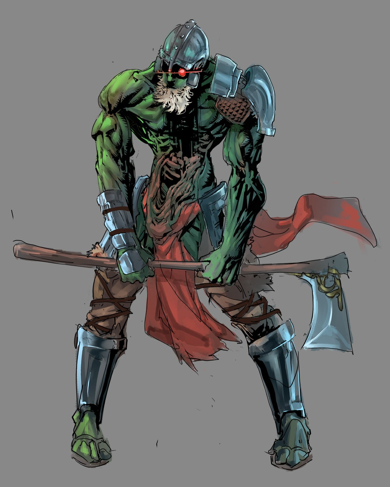 Фанат Valheim задался целью нарисовать всех существ в игре — его арты выглядят круче официальных