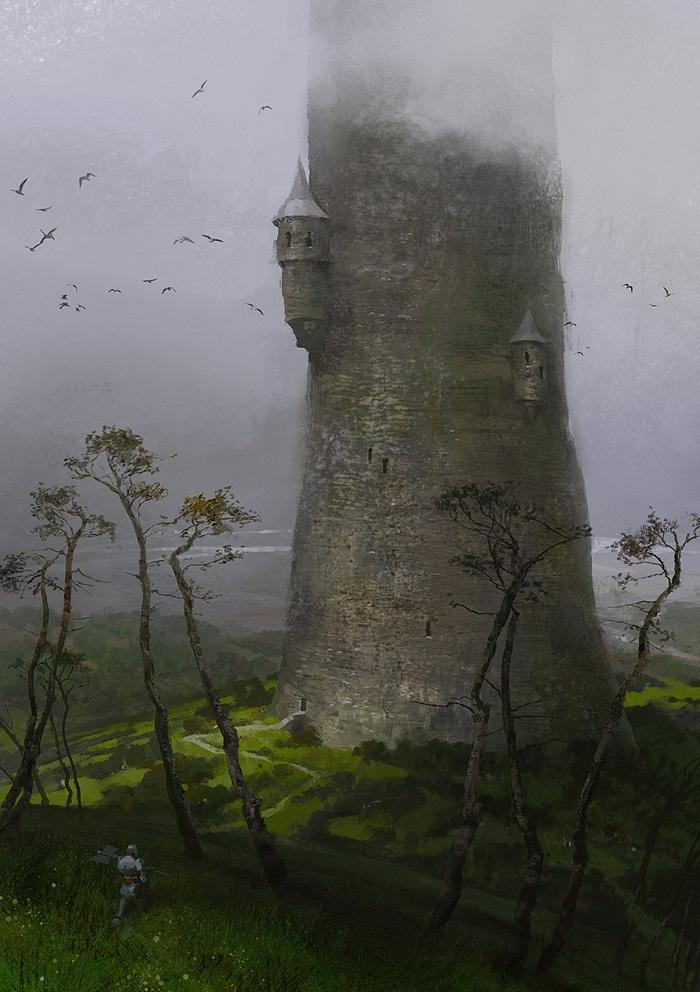 Художник опубликовал арты Destiny, когда игра еще была фэнтези