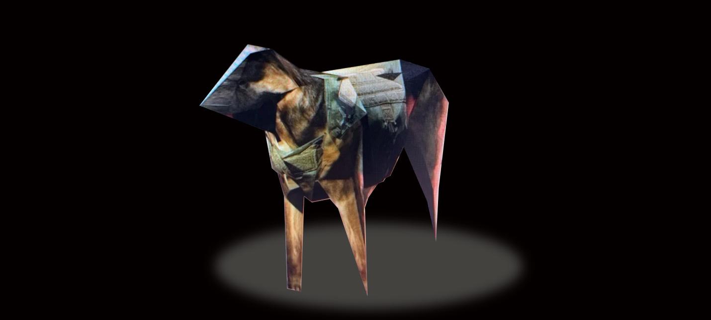 Низкополигональный пес из Call of Duty Modern Warfare захватил сердца геймеров