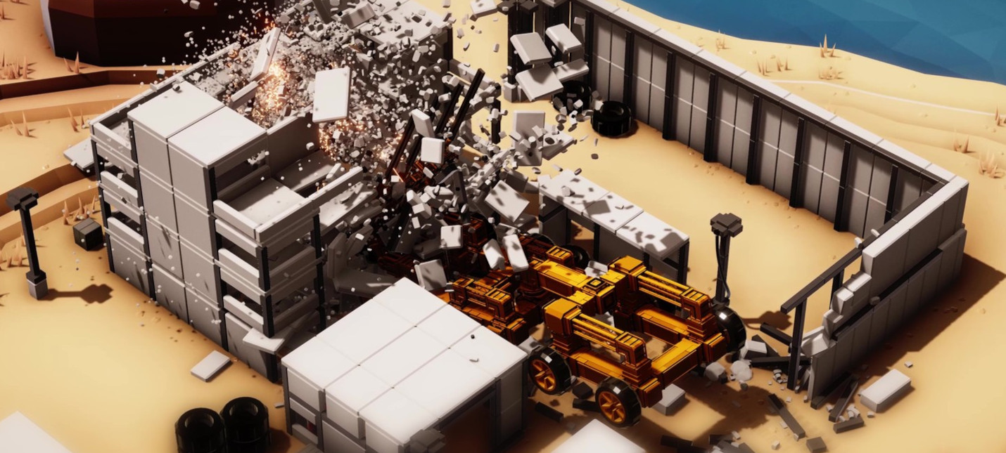 Анонсирована Instruments of Destruction  песочница с реалистичной разрушаемостью от разработчика Red Faction Guerrilla