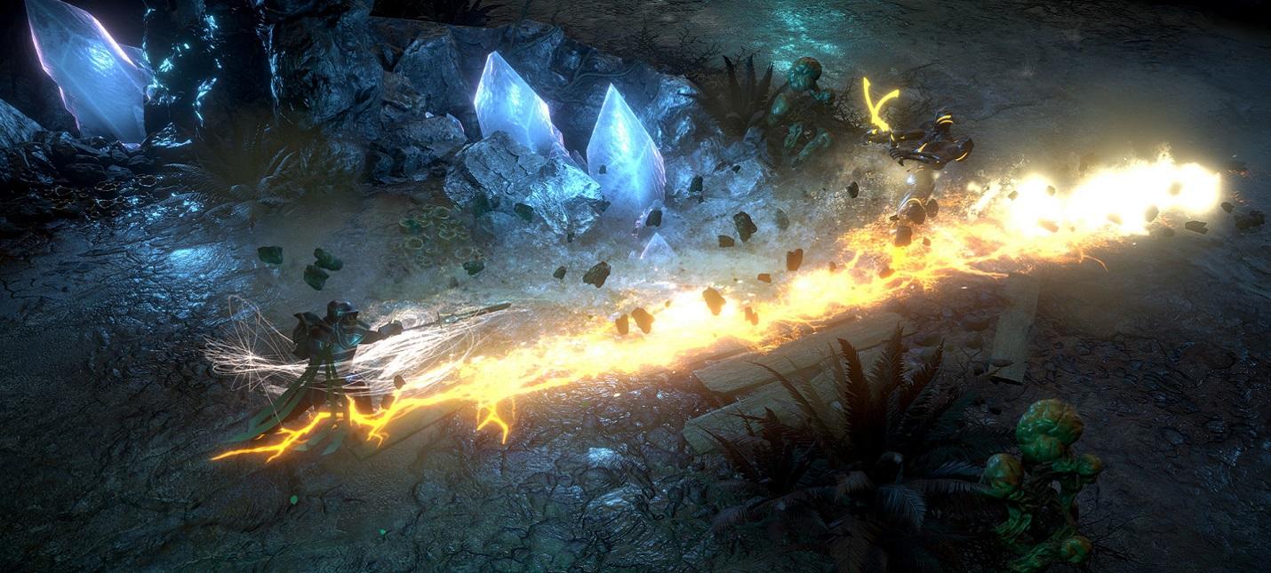 Магические взрывы и горящие дома в сюжетном трейлере Dark Envoy