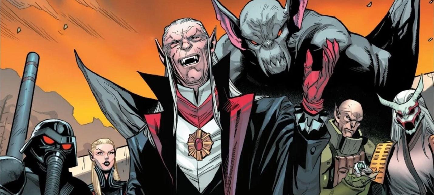В комиксах Marvel Дракула поселился в Чернобыле, а Блейд стал там шерифом
