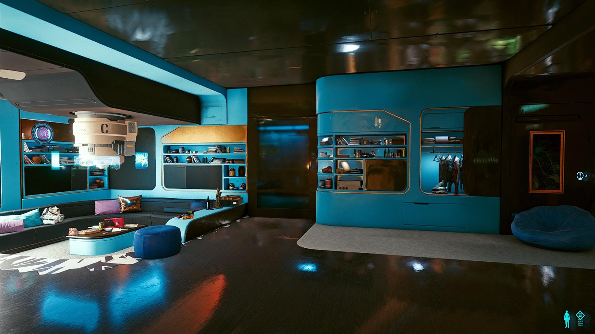 Этот мод для Cyberpunk 2077 позволяет кастомизировать квартиру Ви