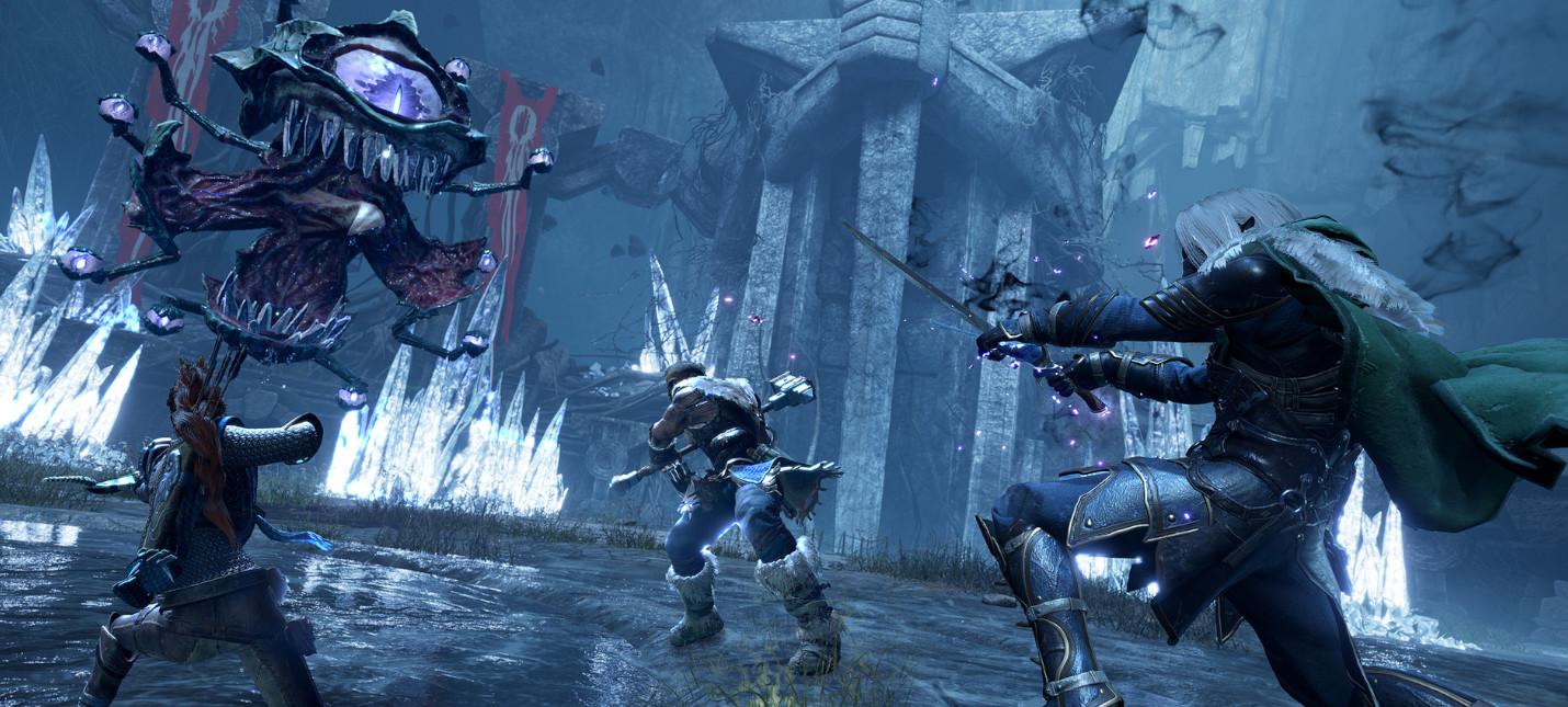 20 минут геймплея DampD Dark Alliance