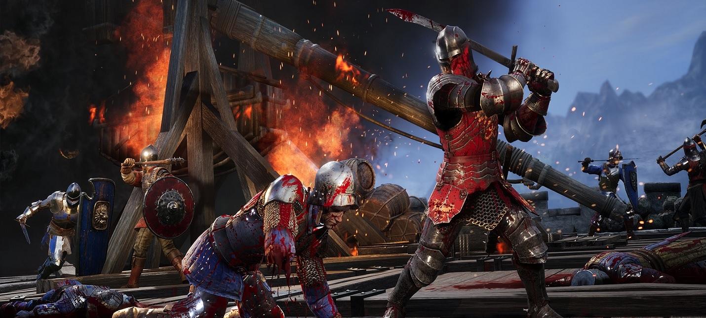 Кровавые сражения, осада замка и курица-убийца в геймплее Chivalry 2