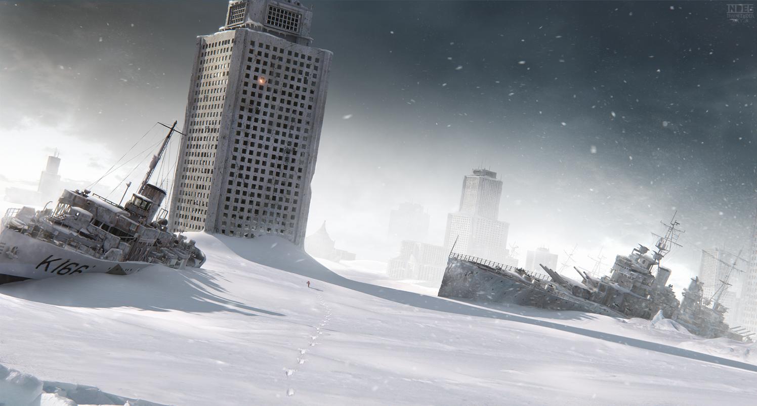 игра зомби зима 1